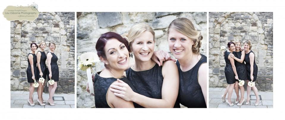 southampton wedding photographer - bridesmaids